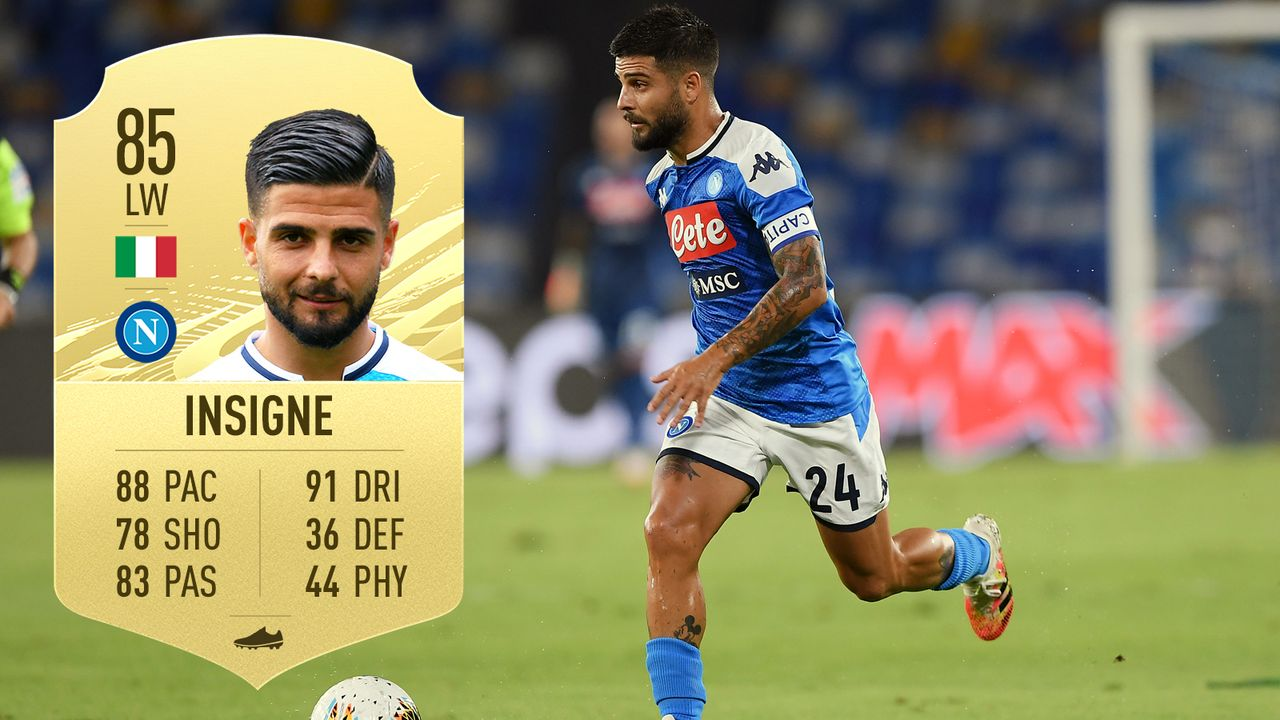 Lorenzo Insigne (SSC Neapel/Italien) - Bildquelle: 2020 Getty Images/EA Sports