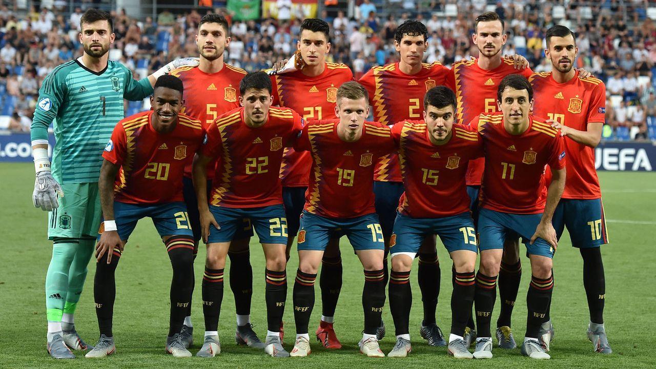 Spanische U21-Nationalmannschaft: Der Finalgegner der DFB-Junioren - Bildquelle: 2019 Getty Images