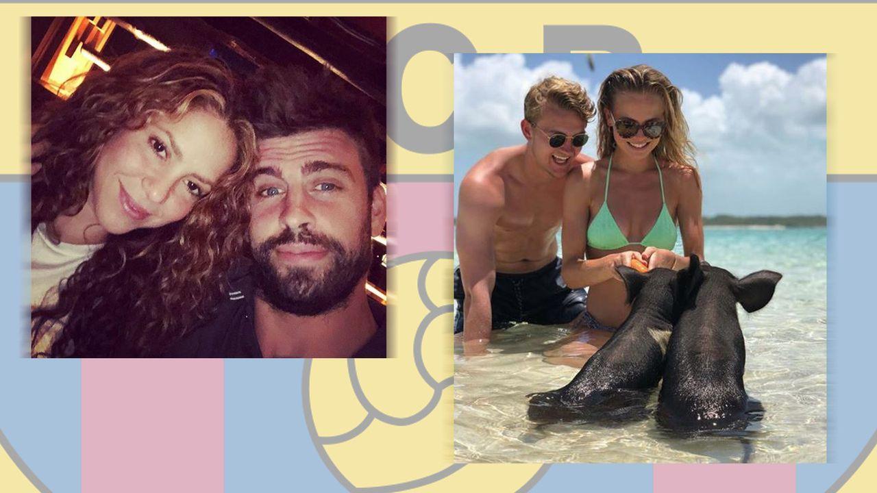 FC Barcelona - Bildquelle: Instagram/mdeligt_ & Instagram/3gerardpique