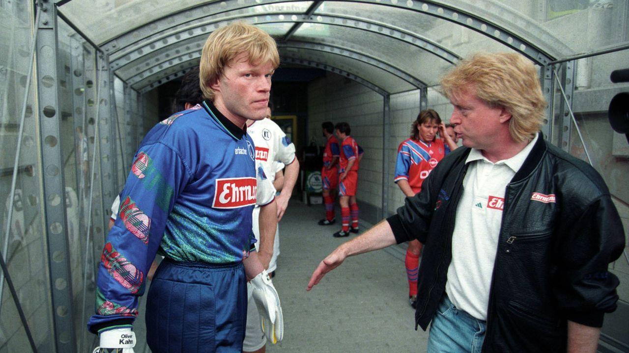 1994 zieht es Kahn von Karlsruhe nach München - Bildquelle: imago sportfotodienst