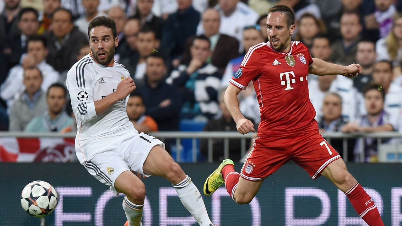 Ribery gegen Carvajal (2014) - Bildquelle: imago/Team 2