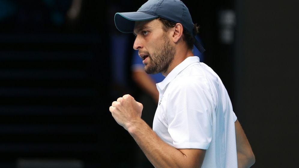 Karazew besiegte Dimitrow und steht im Halbfinale - Bildquelle: AFPSIDDavid Gray