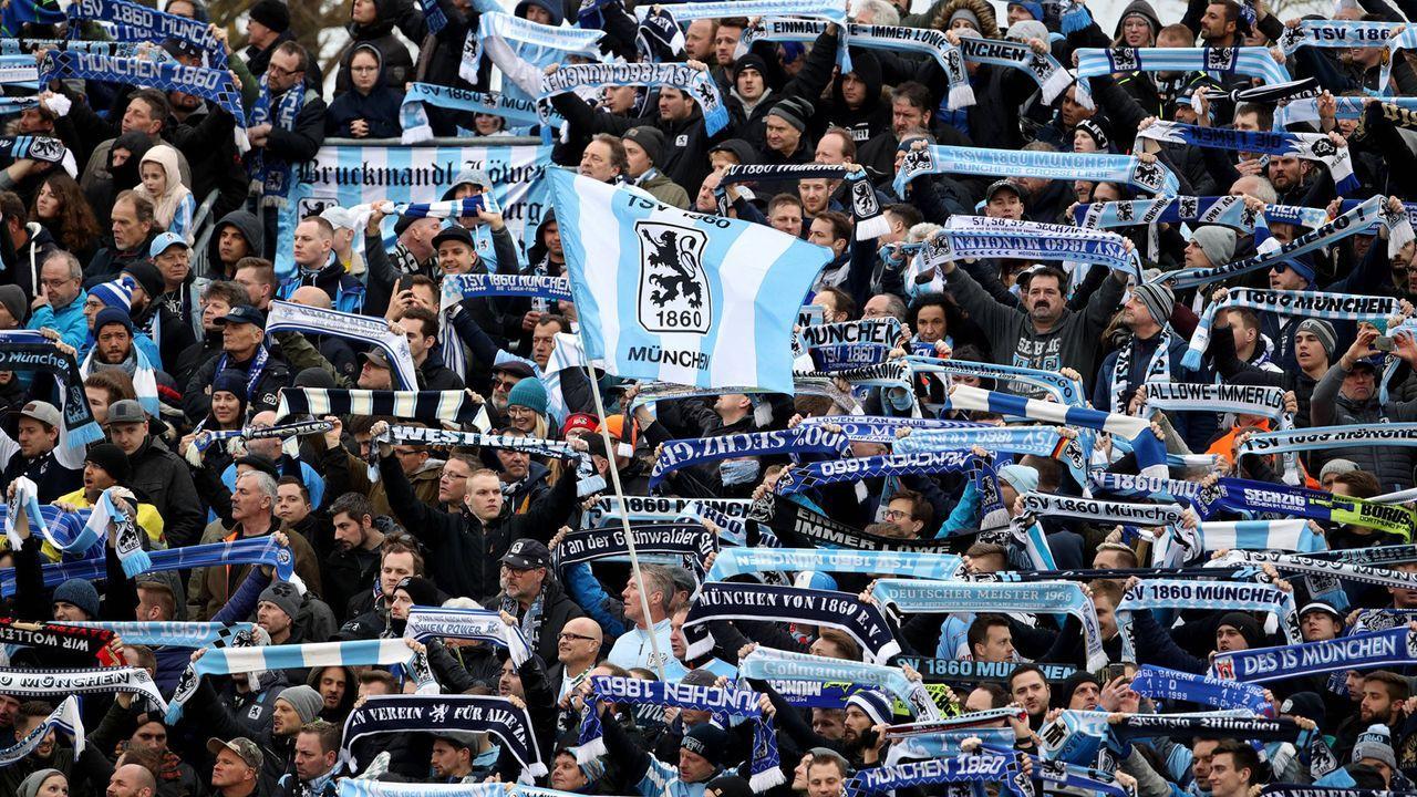 Platz 4: TSV 1860 München - Bildquelle: imago images / HMB-Media