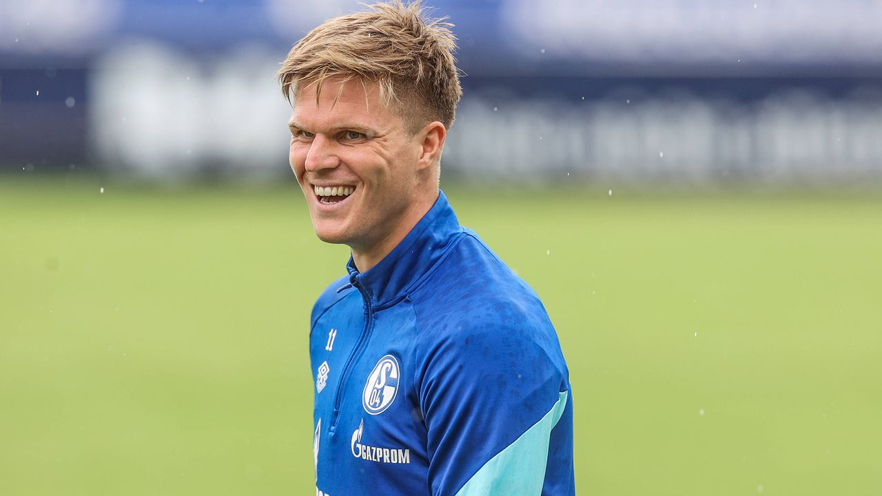 LA: Marius Bülter (FC Schalke 04) - Bildquelle: Imago Images
