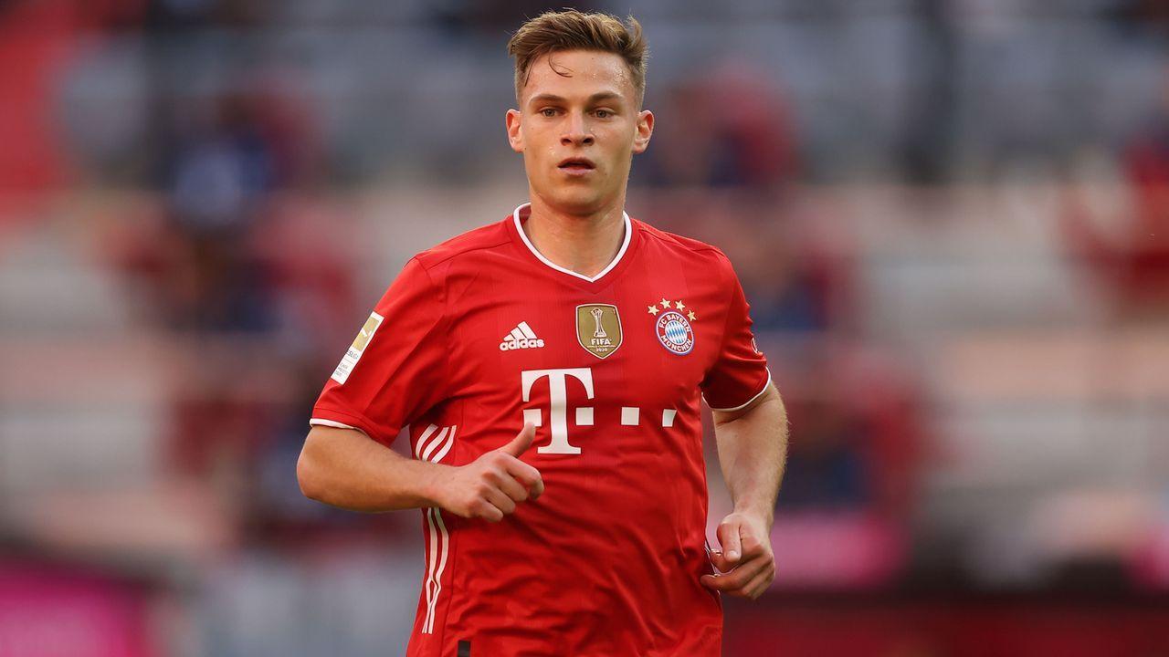 Mittelfeld: Joshua Kimmich (FC Bayern München) - Bildquelle: 2021 Getty Images