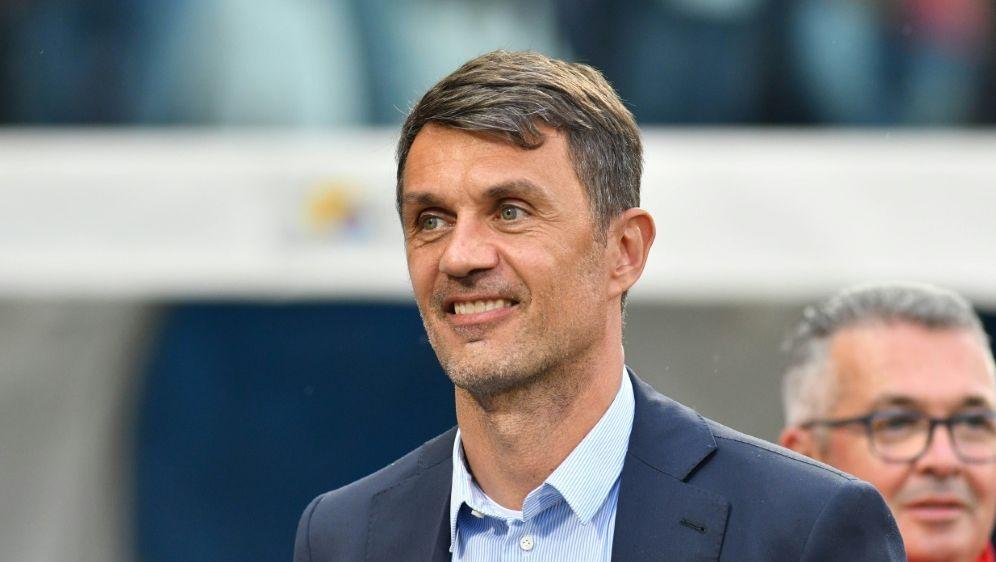 Paola Maldini sieht Rangnick nicht als Milan-Trainer - Bildquelle: PIXATHLONPIXATHLONSID