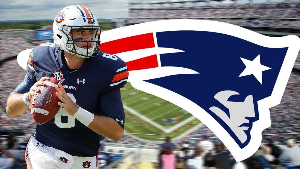Die Patriots haben sich Jarrett Stidham in der vierten Runde gesichert - Bildquelle: getty