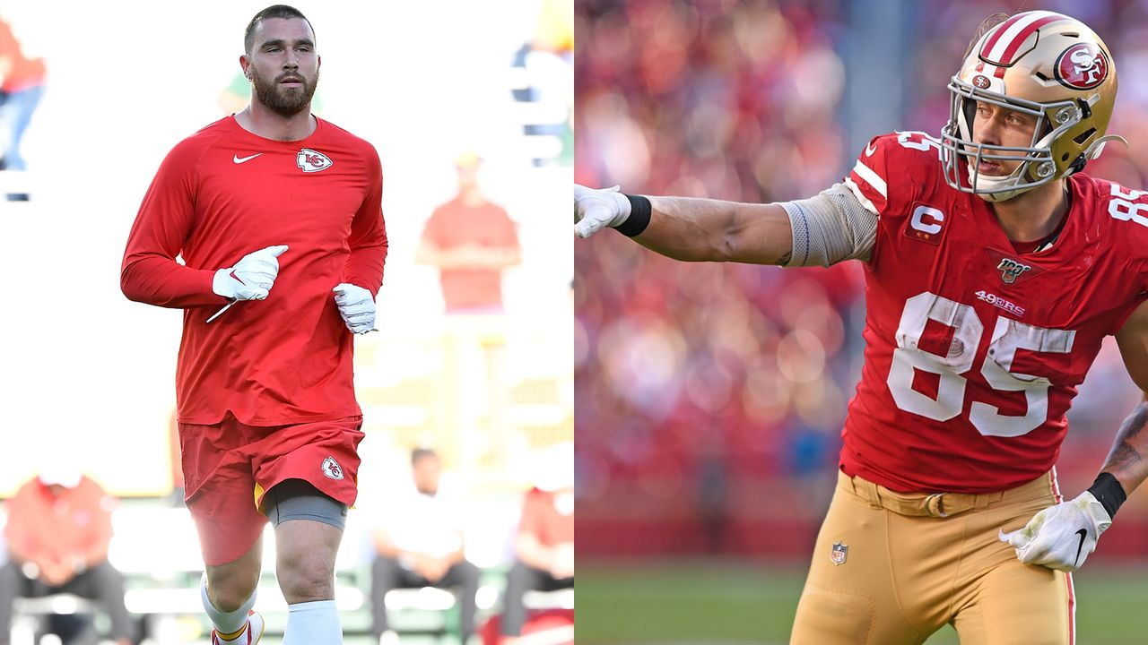 Kelce vs. Kittle: Run Blocking - Bildquelle: imago/getty