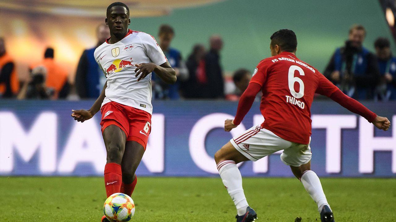 Ibrahima Konate (RB Leipzig) - Bildquelle: imago