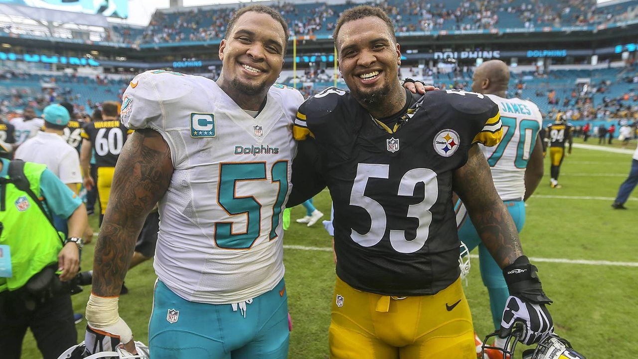 Mike und Maurkice Pouncey (Center) - Bildquelle: Imago
