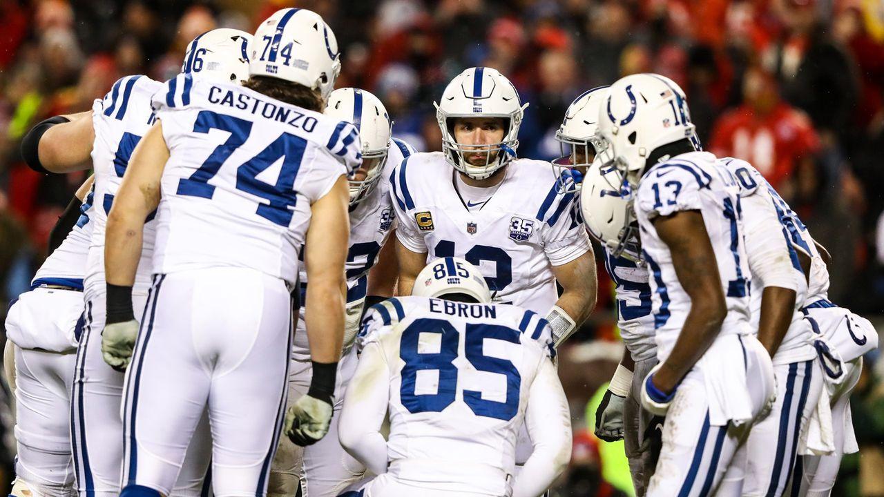 Platz 8 (geteilt): Indianapolis Colts - 23 Siege - Bildquelle: Getty Images