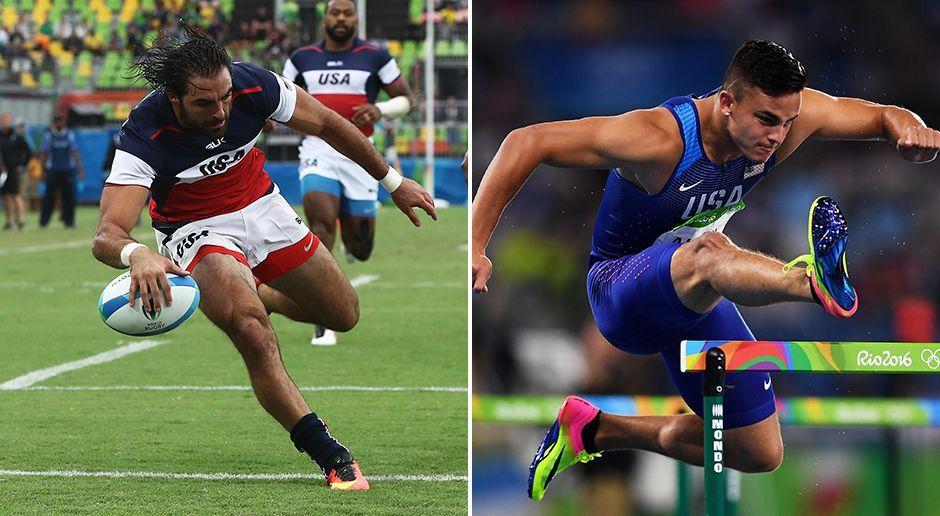 Diese American Footballer sind bei Olympia dabei