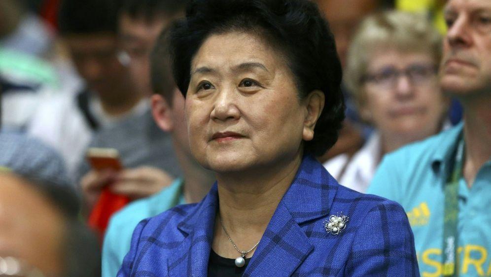 Chinas stellvertretende Premierministerin Liu Yandong - Bildquelle: PIXATHLONPIXATHLONSID