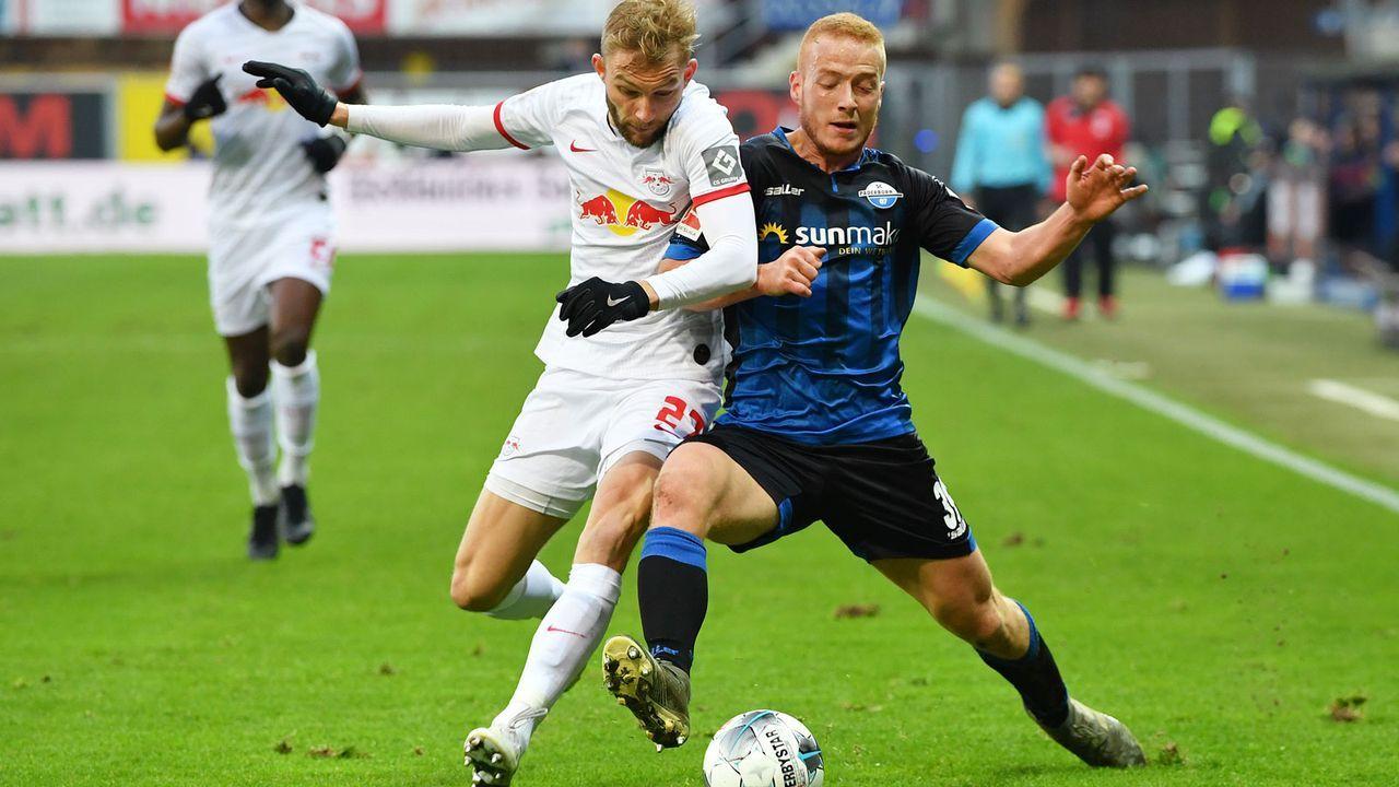 RB Leipzig (58 Punkte, +43 Tore) - SC Paderborn (19 Punkte, -29 Tore) - Bildquelle: Getty Images