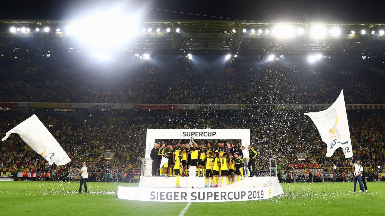 Supercup erst nach dem Bundesliga-Start - Bildquelle: 2019 Getty Images