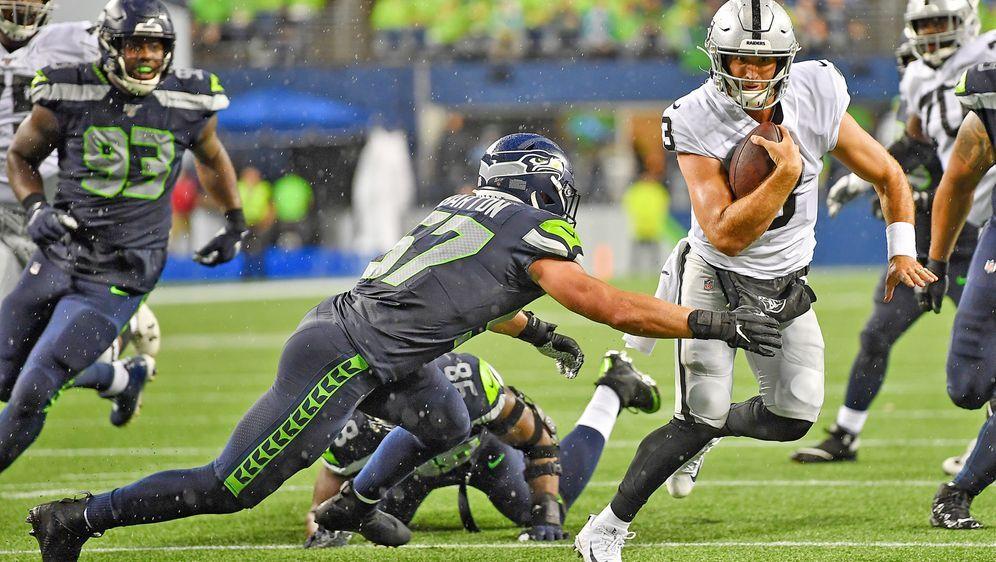 Auch das Duell zwischen den Raiders und den Seahawks wird wohl ausfallen - Bildquelle: getty