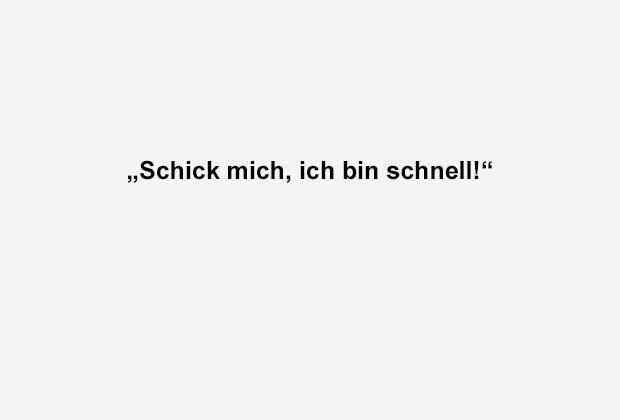 Schick mich - Bildquelle: ran.de