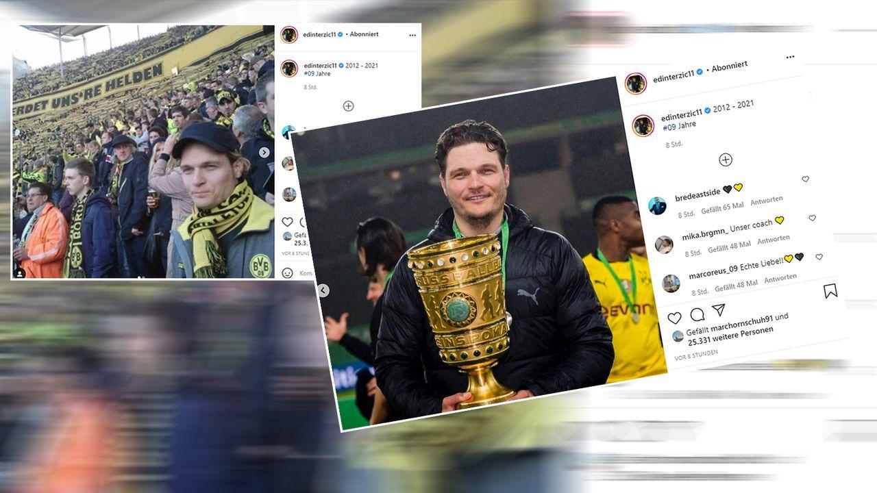 Edin Terzic: Vom BVB-Fan zum Pokalsieger-Trainer - Bildquelle: instagram/edinterzic11