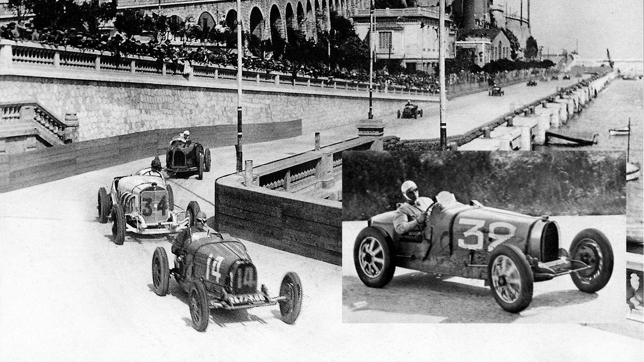 1929: Bugatti-Pilot sichert sich ersten Monaco-Titel - Bildquelle: Imago Images