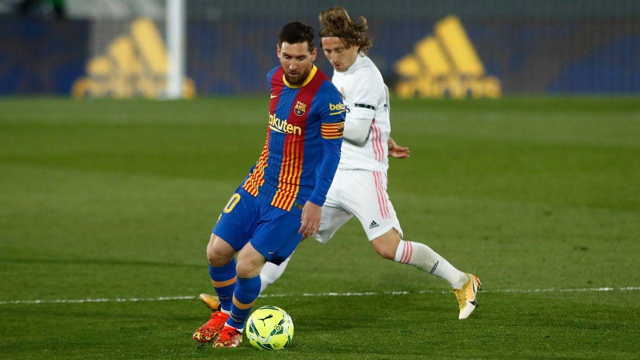 Messi-Watch: Letzter Auftritt bei einem Clasico? - Bildquelle: imago images/ZUMA Wire