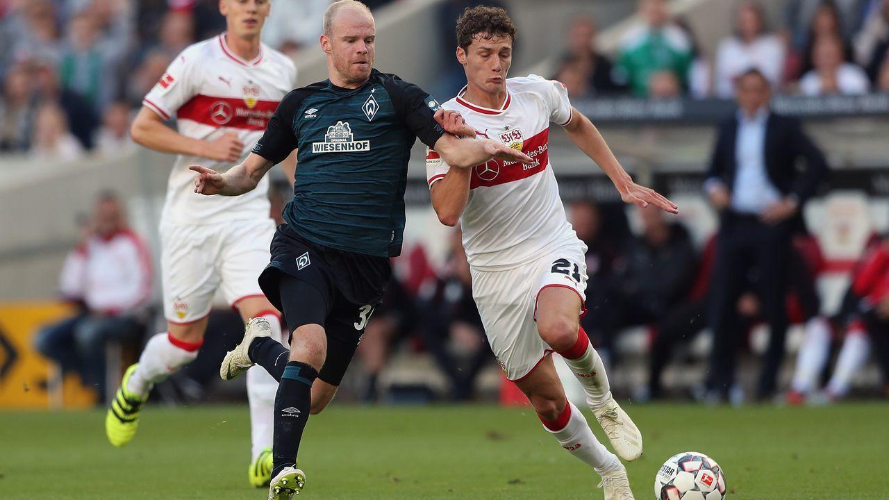 Platz 15 - Benjamin Pavard (VfB Stuttgart) - Bildquelle: 2018 Getty Images