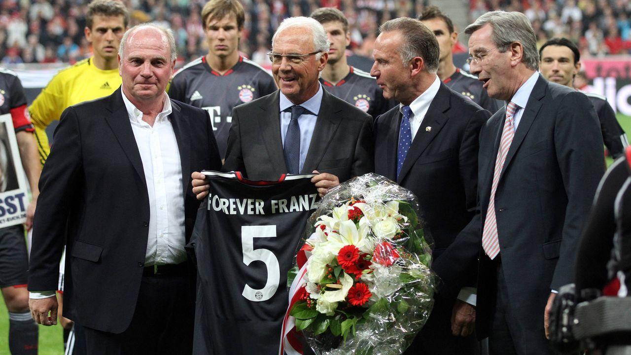 Ein Abschiedsgedicht für Franz Beckenbauer - Bildquelle: imago sportfotodienst