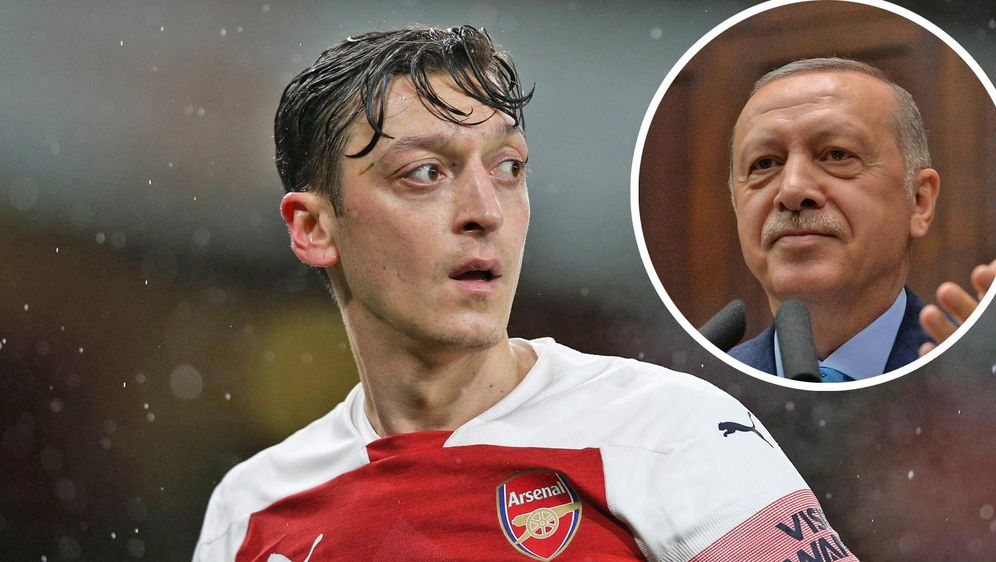Mesut Özil soll sich wieder mit dem türkischen PräsidentenRecep Tayyip Erdo... - Bildquelle: Imago