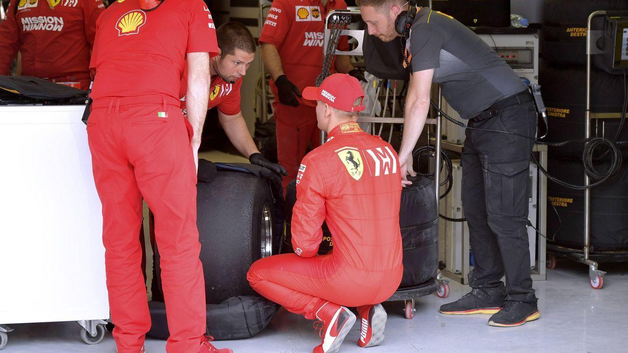 Mick Schumachers F1-Test im Ferrari - Bildquelle: imago images / Laci Perenyi