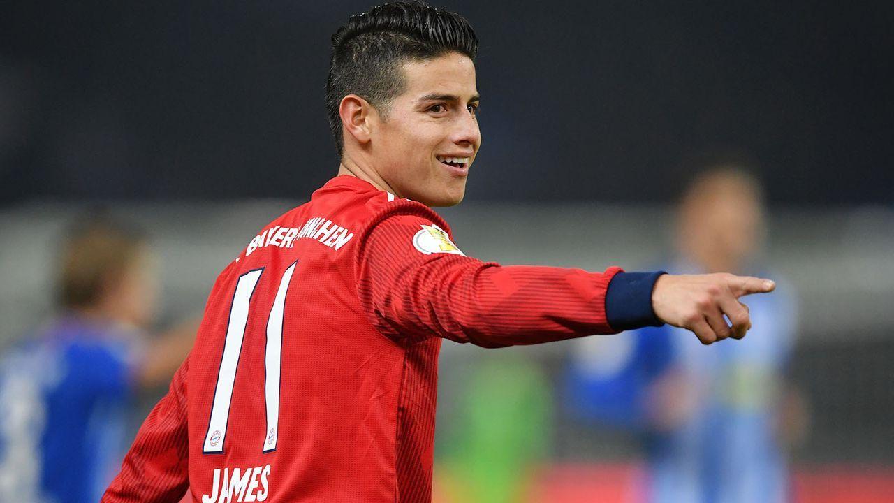 Gewinner: James Rodriguez ( Bayern München)  - Bildquelle: 2019 Getty Images