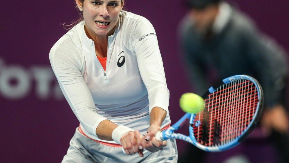 Julia Görges bezwingt Rybarikoava in Miami - Bildquelle: AFPSIDKARIM JAAFAR