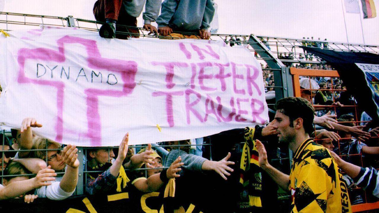 Platz 8 - Dynamo Dresden (1994/95, 20 Punkte, 33:68 Tore) - Bildquelle: imago/Oliver Behrendt