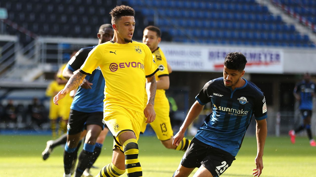 Jadon Sancho - Bildquelle: 2020 Getty Images
