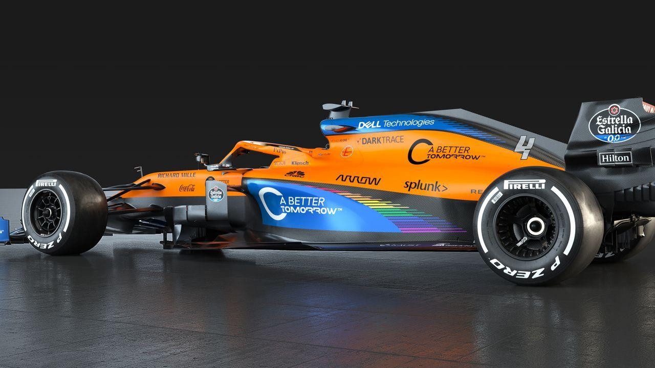 McLaren F1 - MCL35 - Bildquelle: twitter.com/McLarenF1