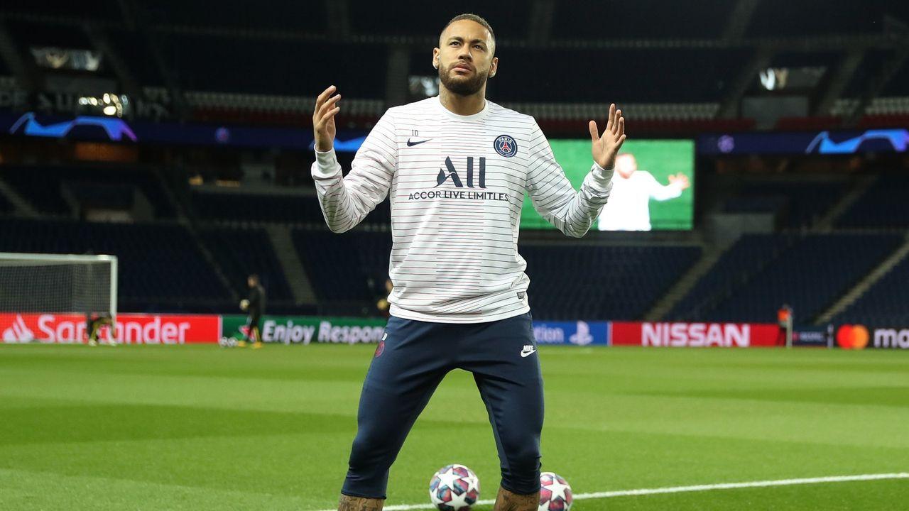 Platz 3: Neymar (Paris St. Germain) - Bildquelle: Getty