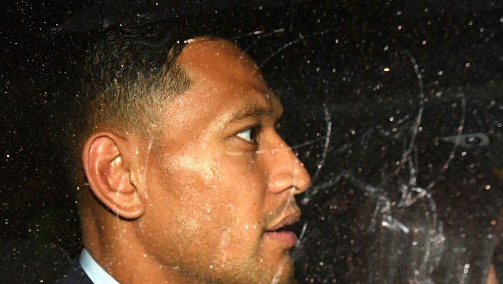 Rugby-Star Folau steht vor einem jahrelangen Prozess - Bildquelle: AFP SIDSAEED KHAN