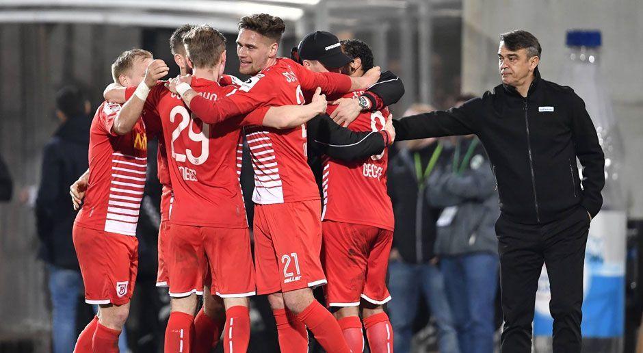 Jahn Regensburg (44 Punkte) - Bildquelle: imago/Zink