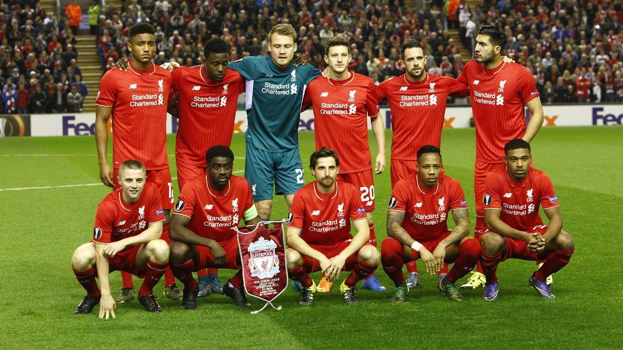 Der Kader des FC Liverpool 2015/2016 - Bildquelle: imago/Action Plus