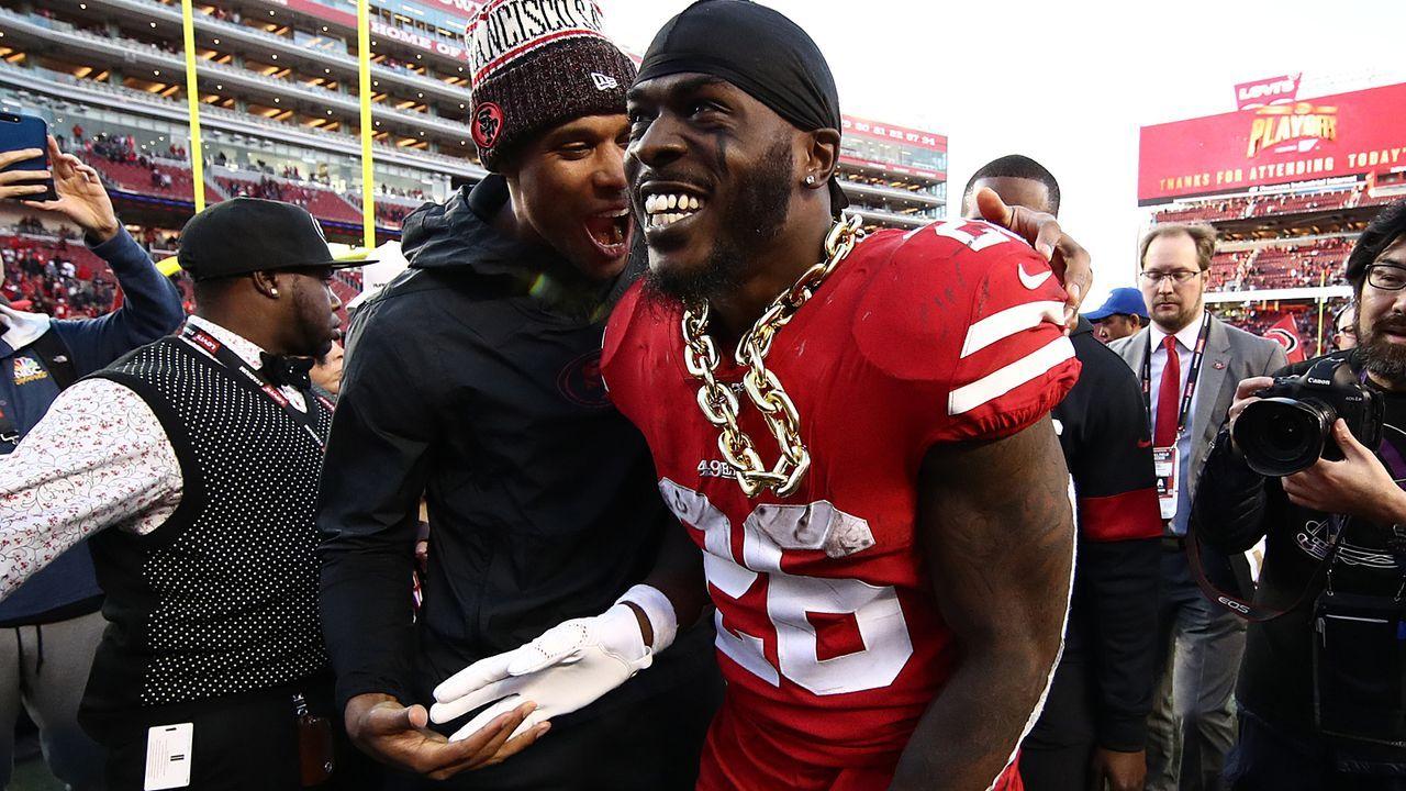 Tevin Coleman (San Francisco 49ers) - Bildquelle: 2020 Getty Images