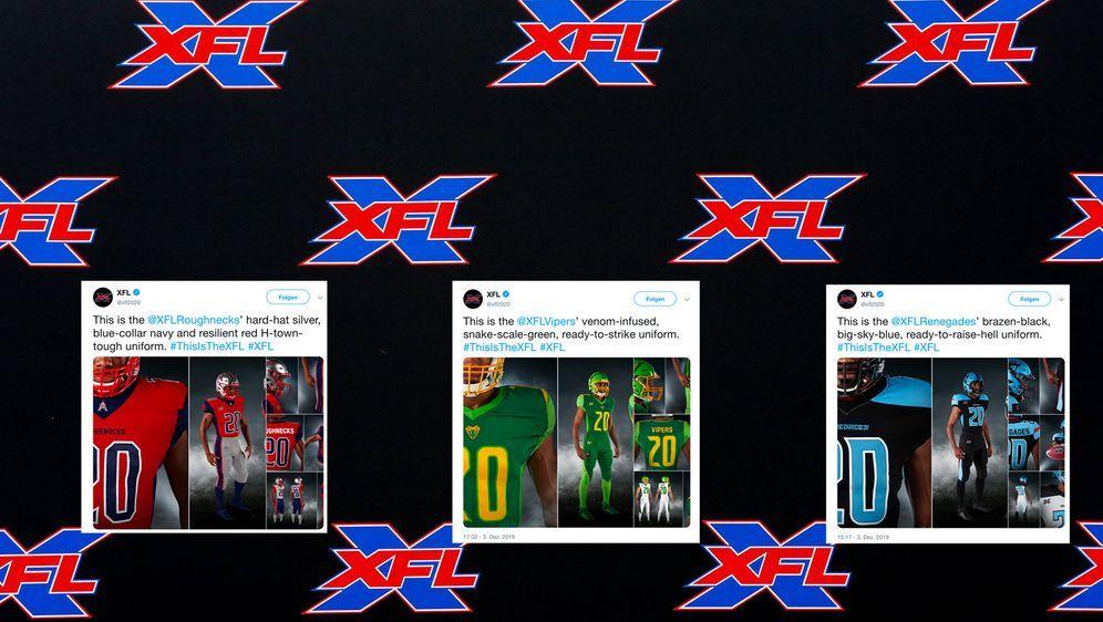 Die Teams haben die Trikots präsentiert. - Bildquelle: imago images / ZUMA Press