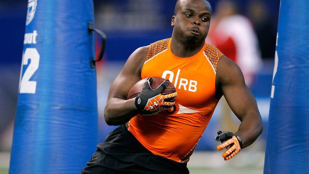 2019 eröffnen unter anderem die Running Backs den NFL Combine. - Bildquelle: Getty Images