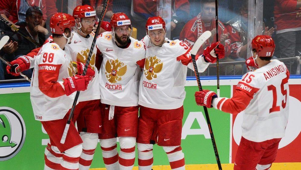 Russland ist als einziges Team noch immer ungeschlagen - Bildquelle: AFPSIDVLADIMIR SIMICEK