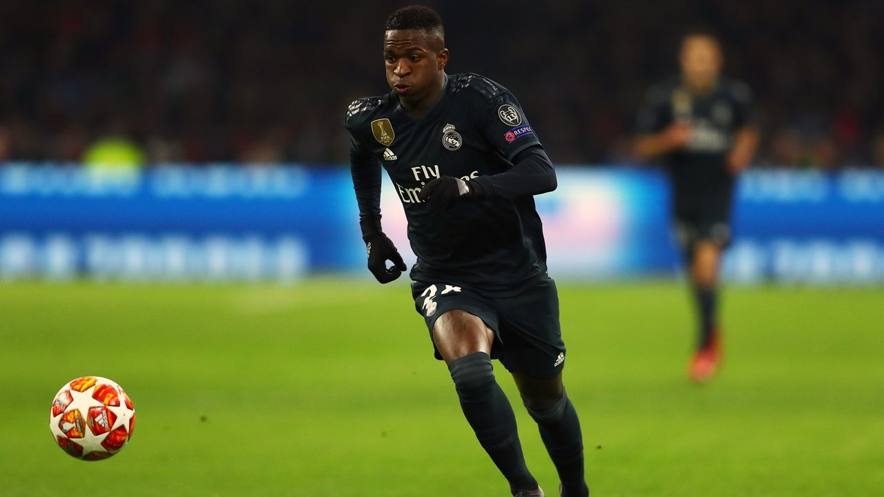 Platz 7 - Vinicius Junior (Real Madrid) - Bildquelle: 2019 Getty Images