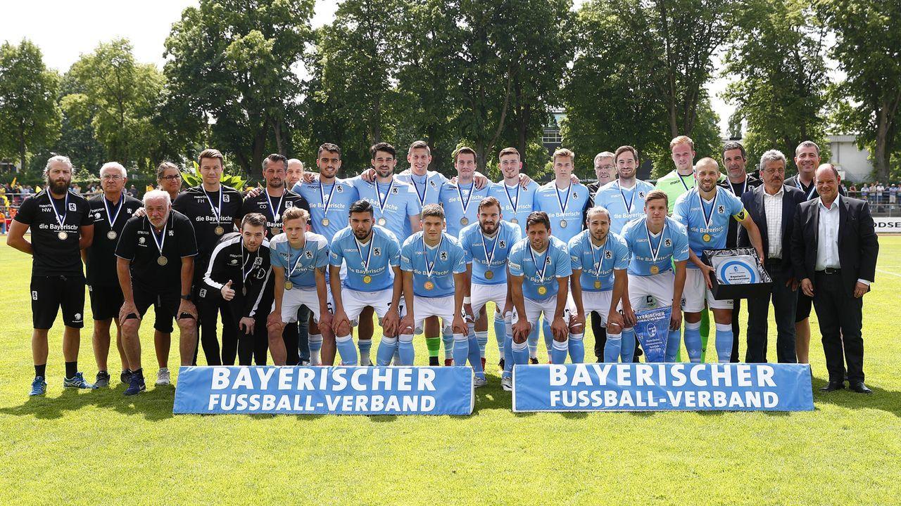 TSV 1860 München (4. Liga) - Bildquelle: imago/Peter Kolb