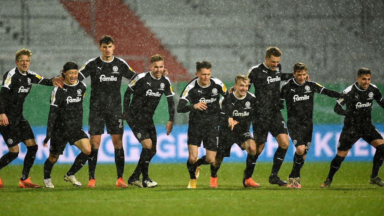 Holstein Kiel in der Einzelkritik gegen den FC Bayern  - Bildquelle: getty
