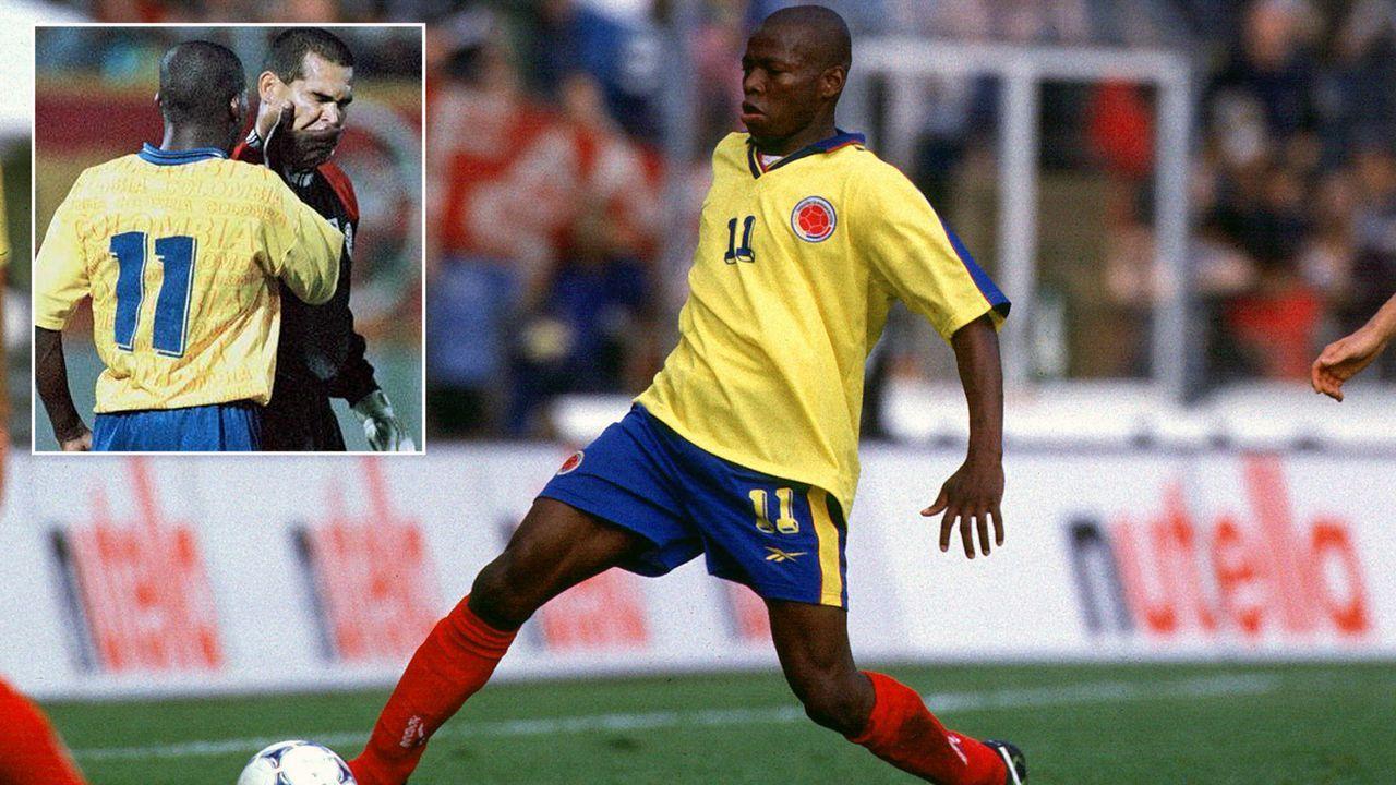 Kolumbien-Star Faustino Asprilla verhinderte Auftragsmord an Gegenspieler - Bildquelle: Imago/twitter@FanDeParaguay