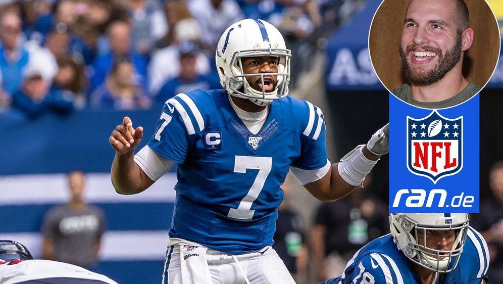Sieht sein Ex-Team, die Indianapolis Colts, auf einem richtig guten Weg: ran... - Bildquelle: Imago