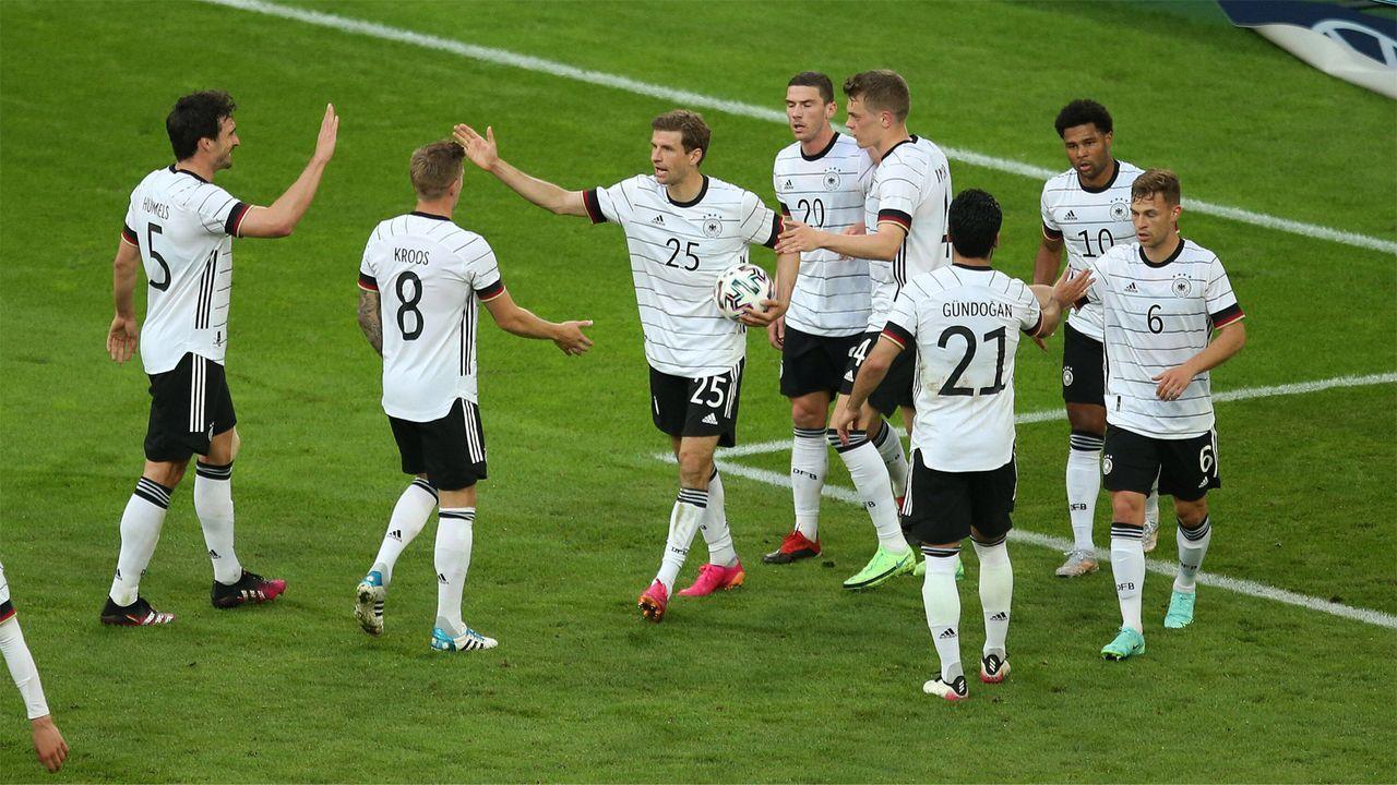 Die DFB-Elf gegen Lettland in der Einzelkritik - Bildquelle: Imago Images