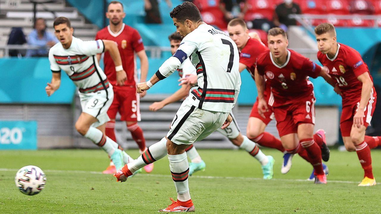 Ronaldo schießt sich zum doppelten Rekord - Bildquelle: Getty Images