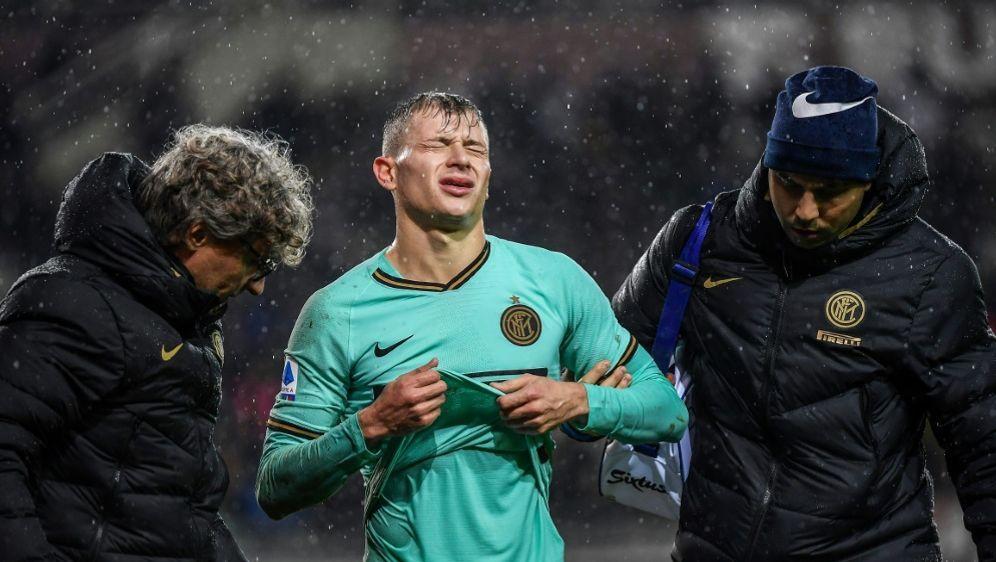 Barella verletzte sich im Spiel beim FC Turin - Bildquelle: AFPSIDMARCO BERTORELLO