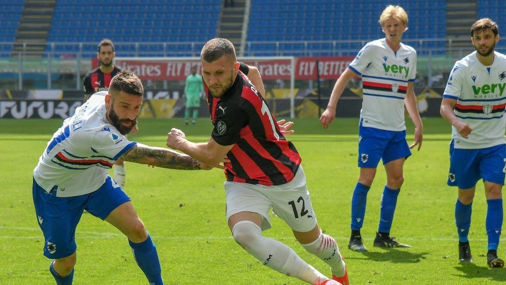 Milan kann sich nicht gegen Sampdoria durchsetzen - Bildquelle: AFPSIDTIZIANA FABI